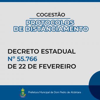 Dom Pedro de Alcântara seguirá os protocolos do Estado e adotará o sistema de cogestão