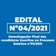 Homologação Final dos Candidatos inscritos no Processo Seletivo Simplificado 01/2021