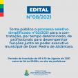 Processo Seletivo nº 02/2021